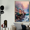Sweetheart Cottage II Reproduction Painting Canvas Print for Living Room Wall Decor