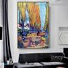 Les Alyscamps Vincent Willem Van Gogh Botanical Landscape Impressionism Artwork Photo Canvas Print for Room Wall Decoration