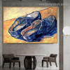A Pair of Leather Clogs Vincent Willem Van Gogh Still Life Impressionism Artwork Painting Canvas Print for Room Wall Garniture