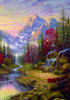The Good Life Landscapes Reproduction Painting Canvas Print