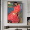 Melancholic Eugène Henri Paul Gauguin Figure Impressionist Artwork Picture Canvas Print for Room Wall Décor