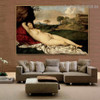 The Sleeping Venus Giorgione Nude Landscape High Renaissance Reproduction Artwork Picture Canvas Print for Room Wall Garnish