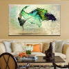 Dancing Colleen Abstract Figure Handmade Painting Picture Canvas Print for Wall Onlay