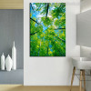 Green Trees Botanical Nature Canvas Artwork Portrait Print for Lounge Room Wall Decoration