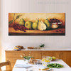 Table Vintage Food and Beverage Painting Portrait Print for Dining Room Wall Equipment