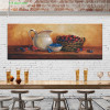 Jug Vintage Food and Beverages Canvas Artwork Picture Print for Room Wall Assortment
