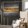 Sky Abstract Landscape Modern Painting Picture Print for Room Wall Outfit