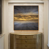 Sky Abstract Landscape Modern Painting Picture Print for Room Wall Decor