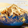 Mountains Nature Landscape Painting Canvas Print