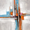 Motley Abstract Modern Canvas Artwork Image Print