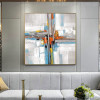 Shot Abstract Modern Painting Print for Room Wall Flourish