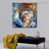The Youth of Moses Sandro Botticelli Figure Early Renaissance Reproduction Portrait Painting Canvas Print for Room Wall Adornment