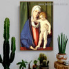 Virgin and Child Giovanni Bellini Figure High Renaissance Reproduction Artwork Photo Canvas Print for Room Wall Ornament