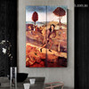 Haywain Hieronymus Bosch Figure Landscape Northern Renaissance Reproduction Portrait Picture Canvas Print for Room Wall Adornment
