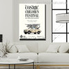 Cosmic Children Quotes Modern Art Canvas Print for Living Room Wall Decor