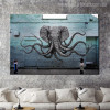 Octopus Arms Abstract Animal Graffiti Painting Canvas Print for Lounge Room Wall Getup