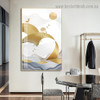 Flying Birds Group Abstract Modern Framed Portrait Image Canvas Print for Room Wall Spruce