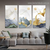 Flying Bird Swarm Abstract Modern Framed Artwork Photo Canvas Print for Room Wall Ornament
