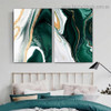 Flexion Marble Abstract Modern Framed Artwork Image Canvas Print for Room Wall Decoration