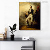 George Washington Vintage Figure Mix Artists Painting Print for Lounge Room Wall Decor