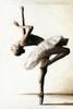 Ballerina Dance Modern Figure Portrait Canvas Print