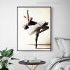 Ballerina Dance Modern Figure Portrait Canvas Print for Room Wall Decor