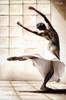 Three Ballerina Dancers Modern Figure Portrait Canvas Print
