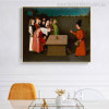 The Conjurer Vintage Mix Artists Artwork Picture Print for Dining Room Wall Adornment
