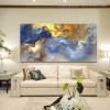 Clouds Abstract Modern Oil Painting Picture Canvas Print for Living Room Wall Outfit