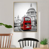 Cathedral Church Cityscape Modern Religious Painting Canvas Print for Dining Room Wall Disposition