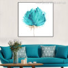 Bloom Abstract Modern Watercolor Nordic Botanical Wall Art Print for Living Room Wall Outfit