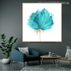 Bloom Abstract Modern Watercolor Nordic Botanical Wall Art Print for Room Wall Ornament