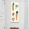 Specimen Wings Abstract Modern Canvas Artwork Print for Wall Getup