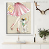 Pet Dog Animal Modern Canvas Artwork Print for Room Wall Equipment