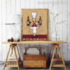 Champagne Bottles Modern Food & Beverage Painting Canvas Print for Room Wall Outfit