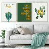 Small Moments Botanical Nordic Quotes Painting Canvas Print for Living Room Wall Assortment