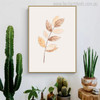 Leafage Botanical Nordic Canvas Artwork Print for Room Wall Disposition