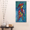 Plague of Goldfish Animal Abstract Watercolor Painting Picture Canvas Print for Home Wall Assortment