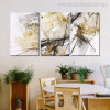 Hued Marble Abstract Modern Painting Picture Canvas Print for Dining Room Wall Trimming