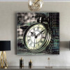 Pocket Watch Fashion Vintage Painting Portrait Canvas Print for Home Wall Getup