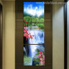 Waterfall Landscape Modern Wall Art Canvas Print for Home Wall Decor