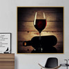 Hooch Framed Modern Food and Beverages Effigy Photo Canvas Print for Living Room Wall Decor