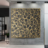 Damask Abstract Framed Painting Image Print for Room Wall Disposition