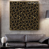 Glossy Abstract Modern Framed Painting Picture Canvas Print for Living Room Wall Getup