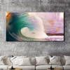 Sea Wave Seascape Landscape Modern Painting Picture Canvas Print for Living Room Wall Garnish