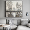 Ford Modern Abstract Landscape Framed Painting Image Canvas Print for Room Wall Equipment