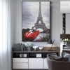 Gallants Abstract Modern Cityscape Framed Canvas Artwork Picture Print for Room Wall Finery