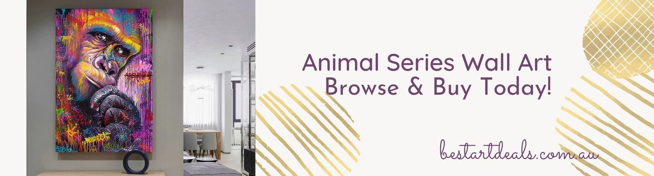 Animal Wall Art Series