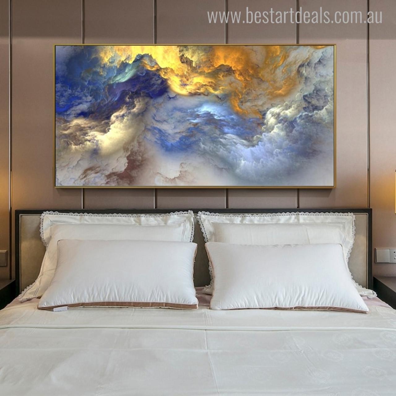 Buy Clouds Canvas Print Wall Art Decor