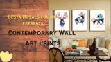 Contemporary Wall Art Prints Video